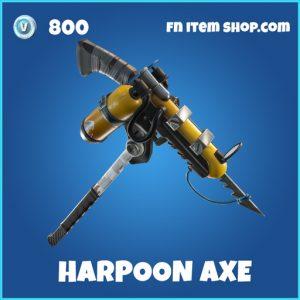 harpoon axe rare pickaxe fortnite