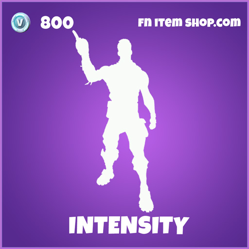 Intensity epic emote fortnite
