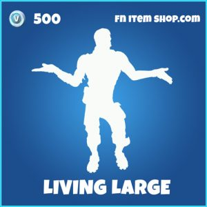 Living Large rare emote fortnite