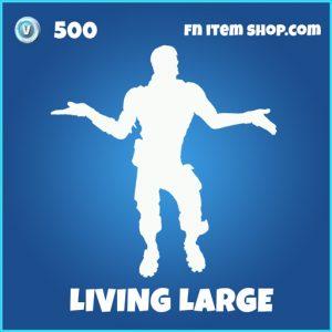 Living Large rare emote fortnite
