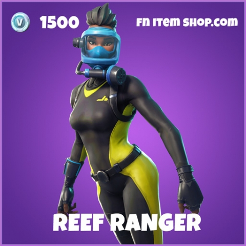 Reef Ranger epic fortnite skin