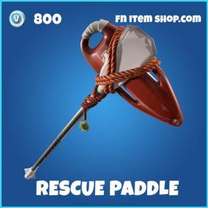 Rescue Paddle rare fortnite pickaxe