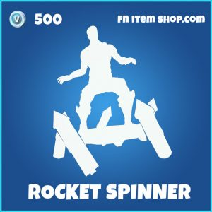 rocket spinner 500 rare emote fortnite