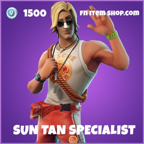Sun Tan Specialist Epic Fortnite skin