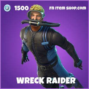 Wreck Raider epic skin fortnite