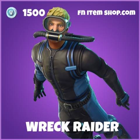 Wreck Raider epic skin fortnite