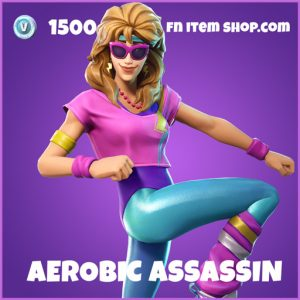 Aerobic Assassin Epic Fortnite Skin