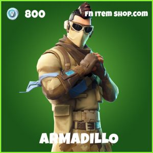 Armadillo uncommon fortnite skin