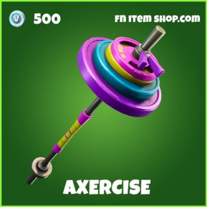 Axercise uncommon fortnite pickaxe