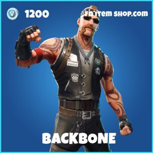 Backbone rare fortnite skin