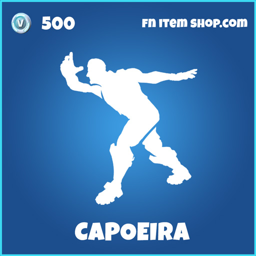 Capoeira rare fortnite emote
