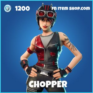 Chopper rare fortnite skin