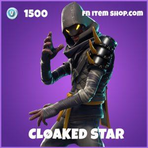 CLoaked Star epic fortnite skin
