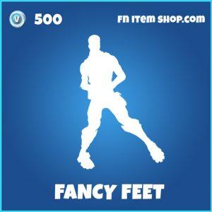 Fancy feet rare fortnite emote