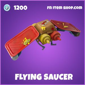 Flying Saucer epic glider fortnite