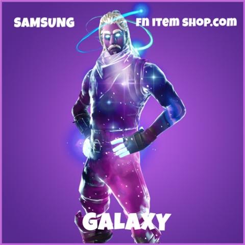 Galaxy epic fortnite skin samsung