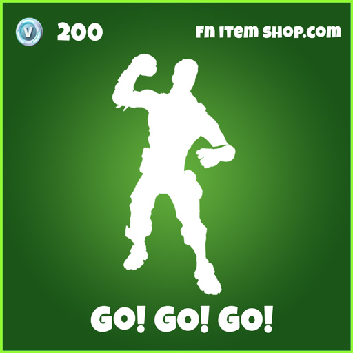 Go! Go! Go! uncommon fortnite skin