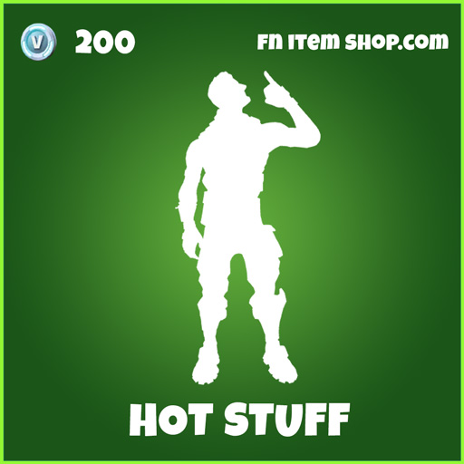 Hot Stuff uncommon fortnite emote