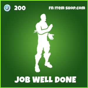 Job well done uncommon fortnite emote