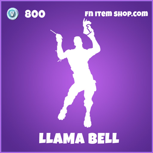LLama bell epic fortnite emote