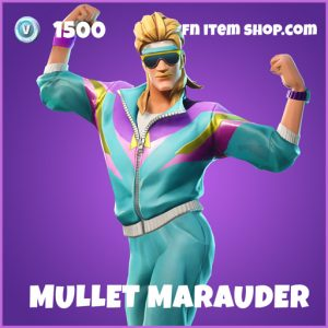 Mullet Marauder epic fortnite skin