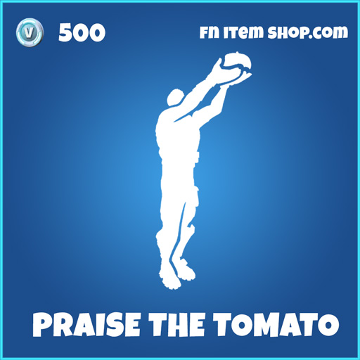 Praise the tomato rare fortnite emote
