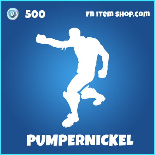 Pumpernickel rare fortnite emote