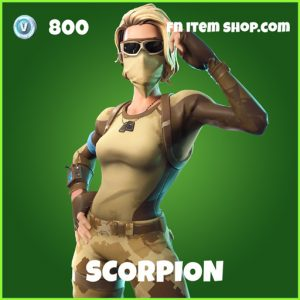 Scorpion uncommon fortnite skin