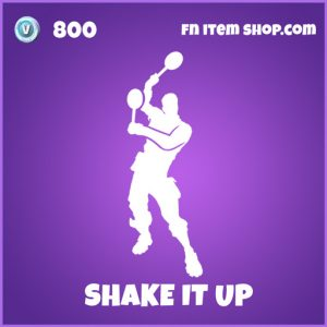 Shake it up epic fornite emote