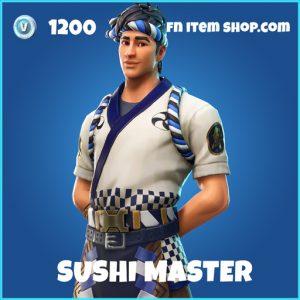 Sushi Master rare fortnite skin