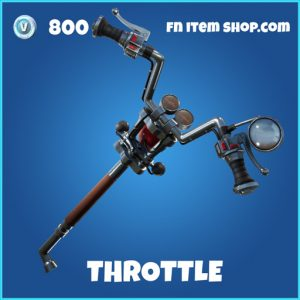 Throttle rare fortnite pickaxe