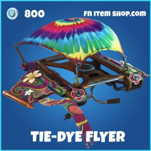 Tie-dye flyer rare fortnite glider