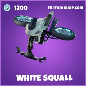 White squall epic fortnite glider