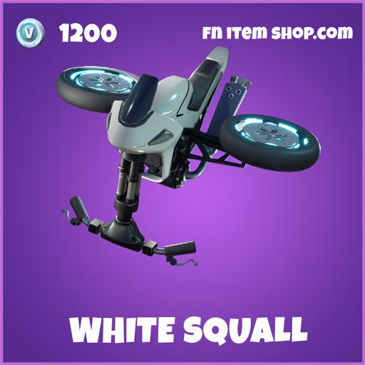 White squall epic fortnite glider