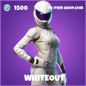 Whiteout epic fortnite skin