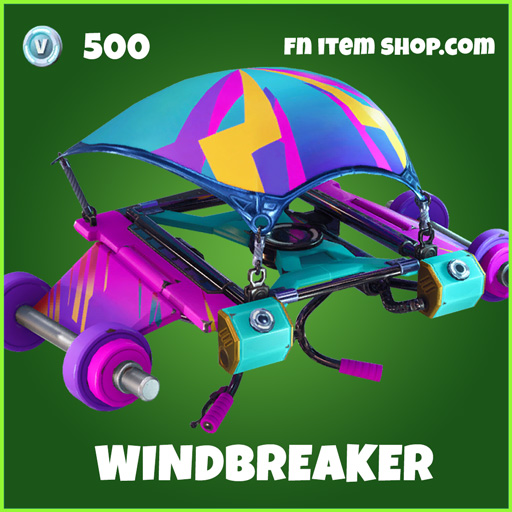 Windbreaker uncommon glider fortnite