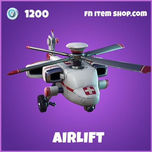 Airlift epic fortnite glider