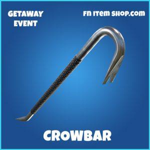 Crowbar rare fortnite pickaxe