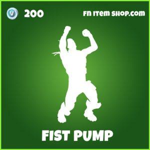fist pump uncommon fortnite emote