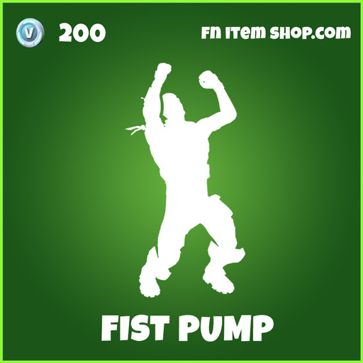 fist pump uncommon fortnite emote