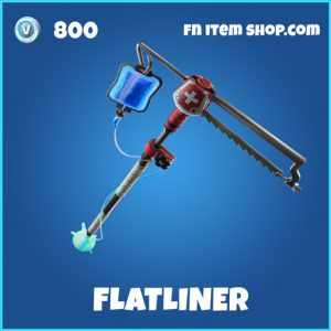 Flatliner rare fortnite pickaxe