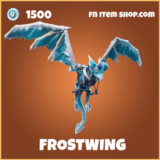 Frostwing legendary glider