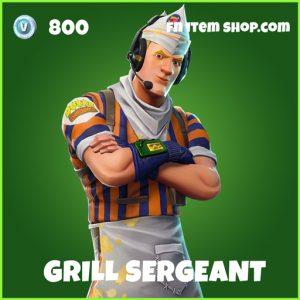 Grill Sergeant uncommon fortnite skin