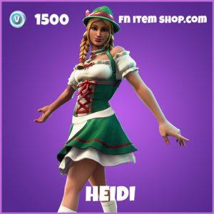 Heidi epic fortnite skin