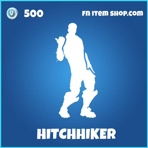 hitchhiker rare fortnite emote