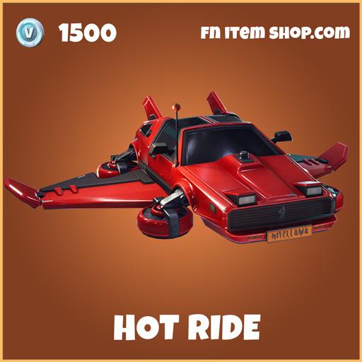Hot Ride legendary fortnite glider