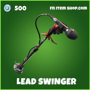 Lead Swinger uncommon fortnite pickaxe