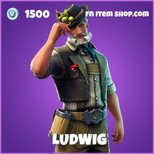 Ludwig epic fortnite skin