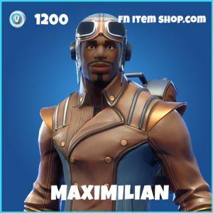 Maximilian rare fortnite skin