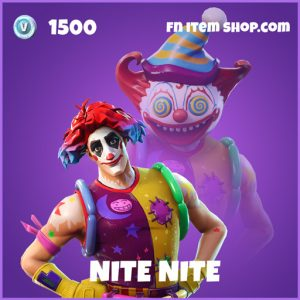 Nite Nite epic fortnite skin